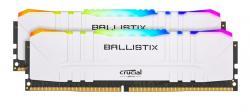 Pamięć DDR4 Ballistix RGB 32/3200 (2*16GB) CL16 Biała