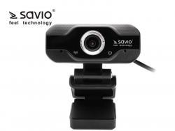 Elmak Kamera Internetowa USB Full HD SAVIO CAK-01 z mikrofonem