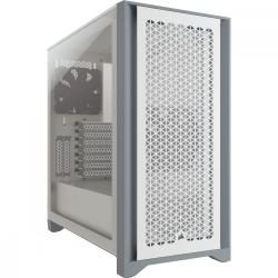 5000D TG White Mid Tower ATX