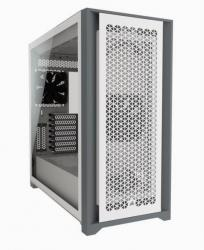 5000D Airflow TG White Mid Tower ATX