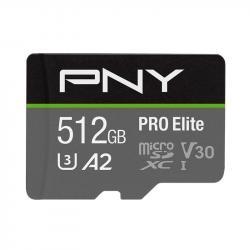 Karta pamięci MicroSDXC Elite 512GB P-SDUX512U3100PRO-GE