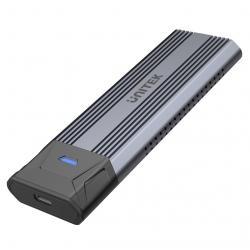 Obudowa USB3.1 Gen2 - M.2,NVME/SATA; S1204B