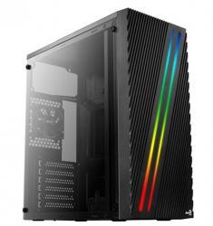 AeroCool Obudowa Streak RGB BLACK USB 3.0 Mid Tower