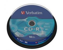 CD-R 52x 700MB 10P CB DL Ex Prot 43437