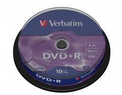 DVD+R 16x 4.7GB 10P CB 43498