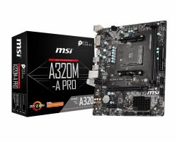 Płyta główna A320M-A PRO AM4 2DDR4 DVI/HDMI mATX