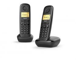 Siemens Telefon DECT A170 DUO Czarny