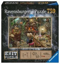 Ravensburger Puzzle 759 elementów - Exit, Kuchnia czarownicy