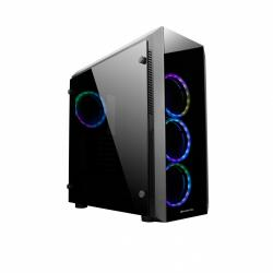 Obudowa GL-02B-OP Scorpion II Mid Tower 4xRGB fan