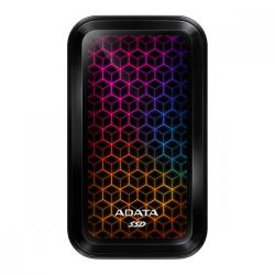 Adata Dysk zewnętrzny SSD SE770 512G USB3.2-A/C RGB