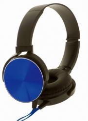 Słuchawki stereo z mikrofonem Montana Czarno-niebieskie