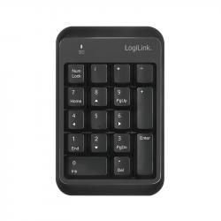 Klawiatra numeryczna Bluetooth v5.1 Czarna