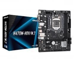 Płyta główna H470M-HDV/M.2 s1200 2DDR4 HDMI/D-SUB/DVI mATX