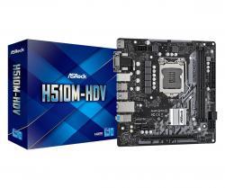 Płyta główna H510M-HDV s1200 2DDR4 HDMI/DVI/D-SUB mATX