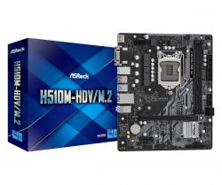 Płyta główna H510M-HDV/M.2 s1200 2DDR4 HDMI/DVI/D-SUB M.2 mATX