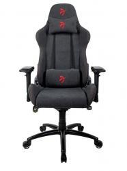 Fotel dla graczy Verona Signature Tkanina Czerwone Logo