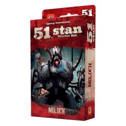 Portal Games Gra 51 Stan Master Set Moloch - Dodatek