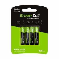 Baterie Akumulatorki Paluszki 4x AAA HR03 800mAh