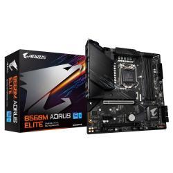 Płyta główna B560M AORUS ELITE s1200 4DDR4 HDMI/DP M.2 mATX