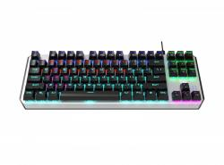 Aegis Mechaniczna klawiatura dla graczy TKL (niebieskie przełączniki)