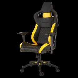 Fotel T1 Gaming Black/Yellow