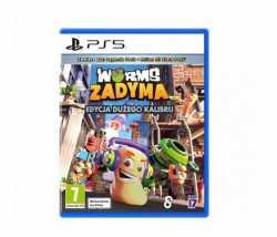 Gra PlayStation 5 Worms Zadyma Edycja Dużego Kalibru