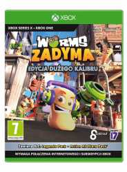 Gra Xbox One/Xbox Series X Worms Zadyma Edycja Dużego Kalibru