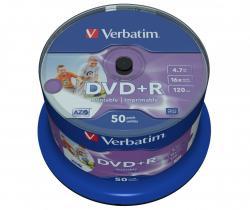DVD+R 16x 4.7GB 50P CB Printable NO ID 43512