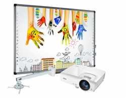 Zestaw EDU2: Avtek TT-Board 80 Pro + Vivitek DX283ST + Avtek WallMount Next 1200