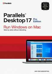 Parallels Desktop 17 Pro Retial Box 1yr EU
