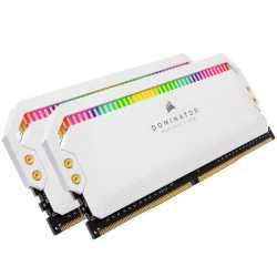 Pamięć DDR4 Dominator Platinum RGB 16GB/3200 (2*8GB) WHITE CL18