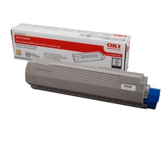 Toner-C810/C830 BLACK 8K 44059108