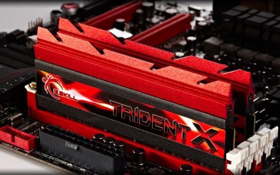 DDR3 8GB (2x4GB) TridentX 2400MHz CL10 XMP
