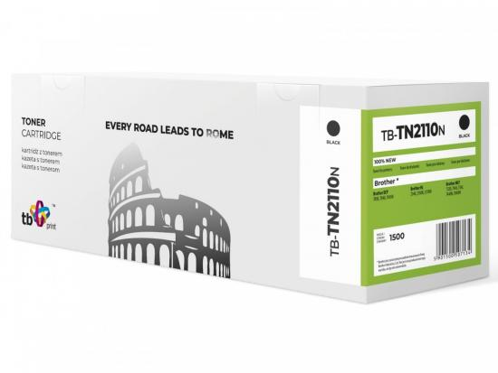 Toner do Brother TN2110 TB-TN2110N BK 100% nowy