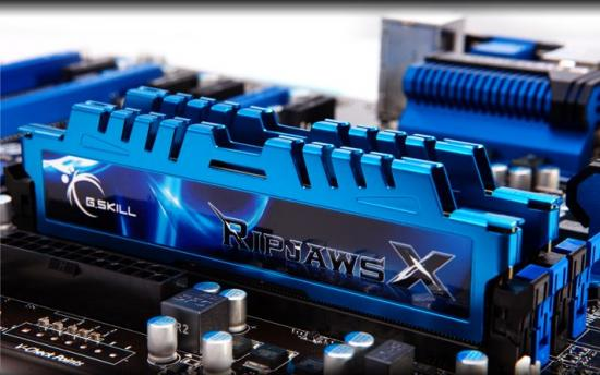 DDR3 8GB (2x4GB) RipjawsX 2400MHz CL11 XMP