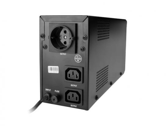 UPS LINE-INTERACTIVE 650VA 2X IEC, 1X SCHUKO 230V, LCD