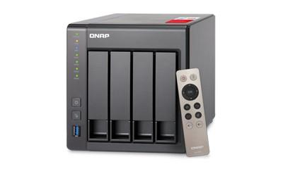 TS-451+-8G 4x0HDD 8GB 2,0GHz 2LAN 2xUSB3.0