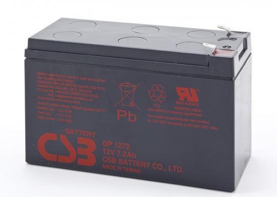 GP 1272 F2 12V 7.2Ah GP1272F2