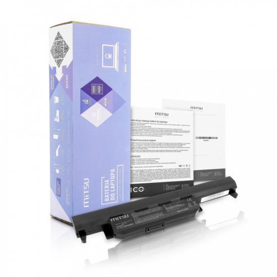 Bateria do Asus A55, K45, K55 4400 mAh (48 Wh) 10.8 - 11.1 Volt