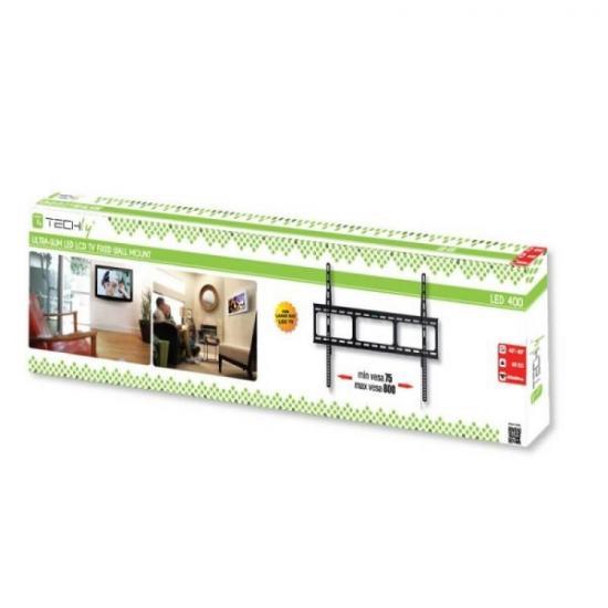 Uchwyt ścienny LCD/LED 42-80cali slim czarny