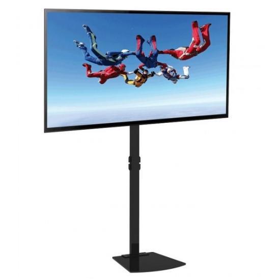 Stojak podłogowy LCD/LED 32-70cali regulowany czarny