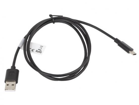 Kabel USB-C -> USB-A M/M 1M 2.0 czarny