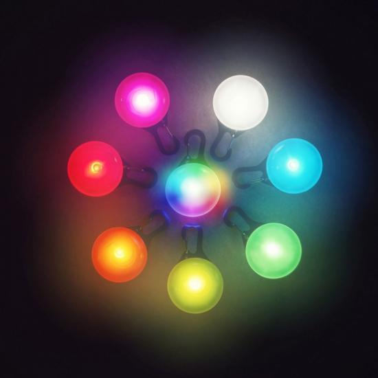 Brelok, zawieszka SpotLit Eko plastik/multikolor LED