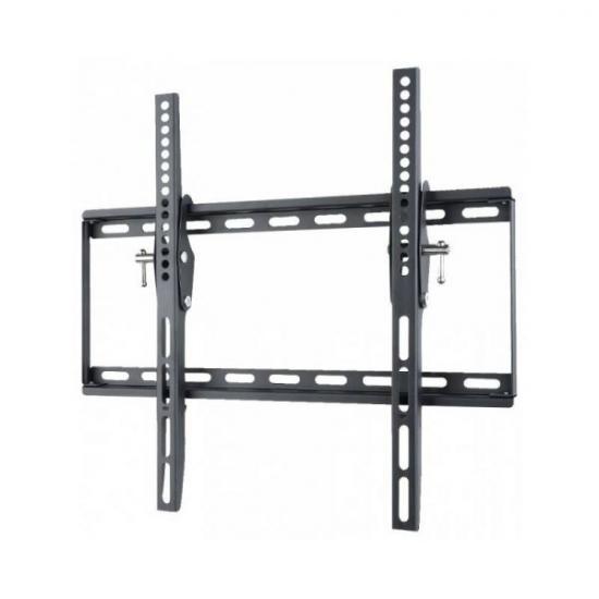 Uchwyt ścienny LCD/LED 23-55cali 45kg pochylny, slim, czarny