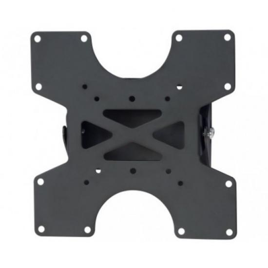 Uchwyt ścienny LCD/LED 17-37cali 35kg pochylny, slim, czarny