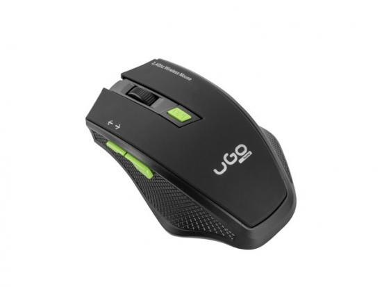 Mysz bezprzewodowa MY-04 2.4GHz 1800DPI optyczna czarna