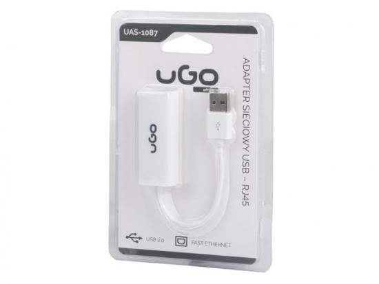 Karta sieciowa USB 2.0 - RJ-45 100Mb na kablu