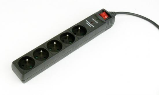 Listwa zasilająca 5 X French socket/3m