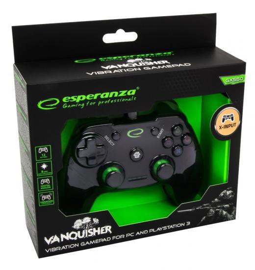 GAMEPAD PC/PS 3 USB VANQUISHER
