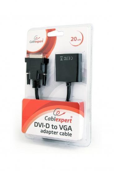 Adapter DVI-D do VGA żeński